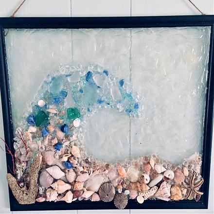 Shawn Dell Joyce Seashell Seaglass Wave