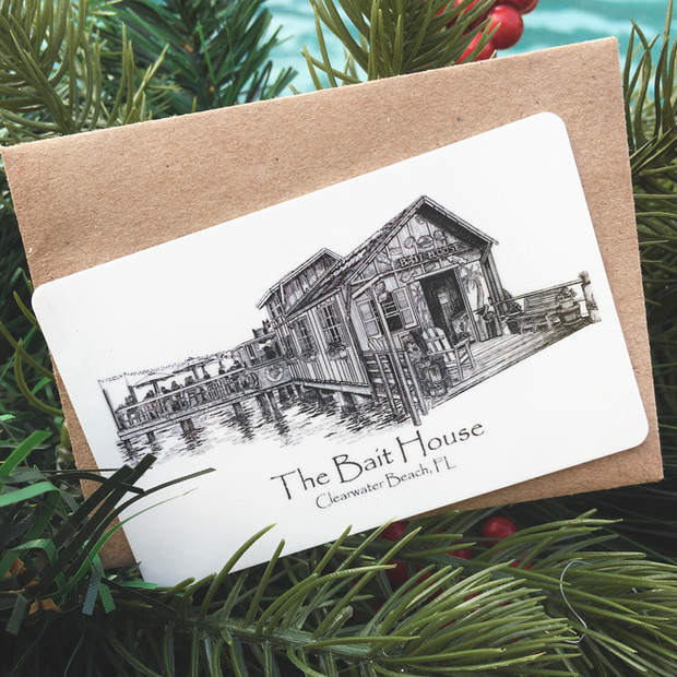 Bait House Gift Cards Available!