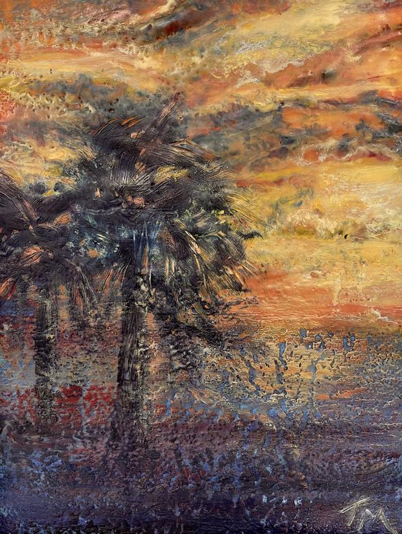 Gulf Water Sunset Series II