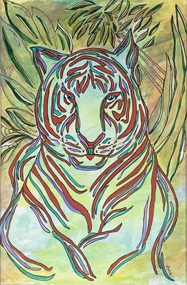 Tiger @ Rest