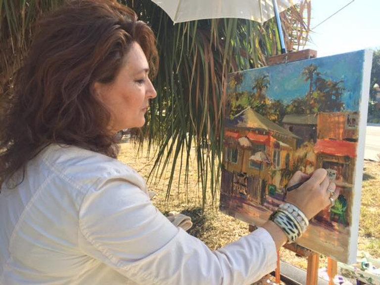 Violetta Artist with IRB painting.jpg