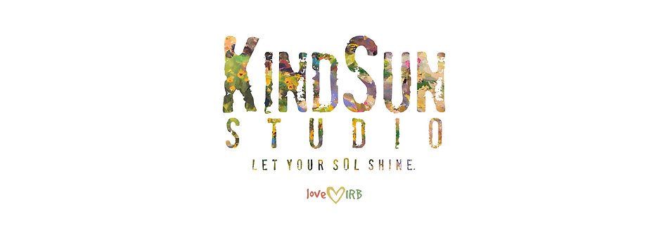 Website Logo Kind Sun with IRB + Tagline
