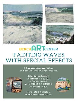 Robert J Simone - Painting Waves Flyer.png