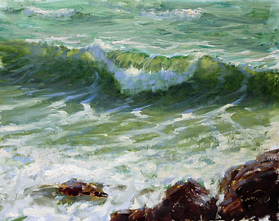 Robert Simone Painting Waves Workshop 3.