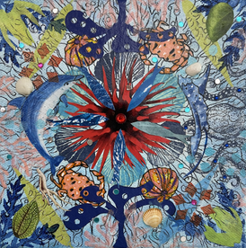 Sea Mandala Bk: The Henna Artist