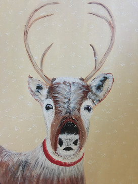 Comet the Winter Deer