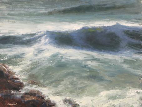 Robert Simone Painting Waves Workshop 1.