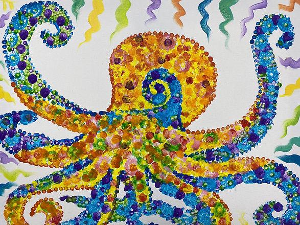 Shawn Dell Joyce Pointillist Octopus.JPG