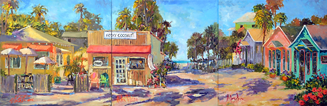 Plein Aire Cottage Artists Kooky Coconut
