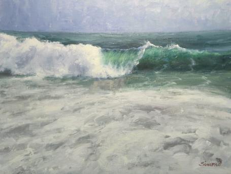 Robert Simone Painting Waves Workshop 2.