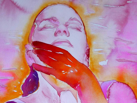 Figurative Painting with Watercolor