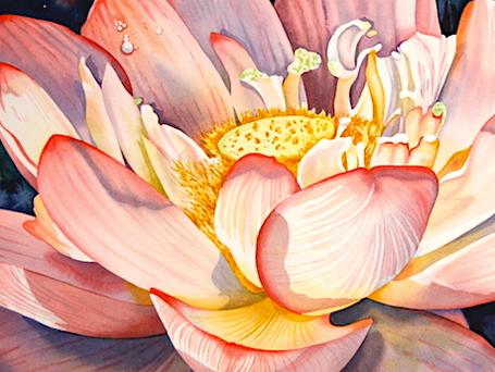 Large Luminous Florals