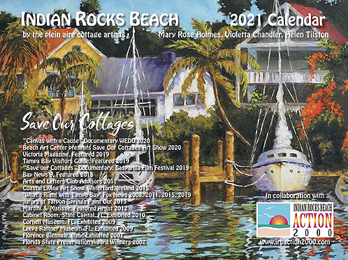 Plein Aire Cottage Artists - Save our Cottages - 2021 Calendar