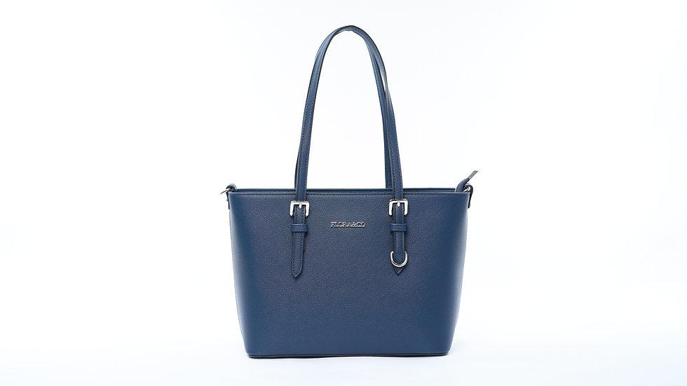 Sac Cabas bleu Flora & CO pour femme en simili cuir Abidjan