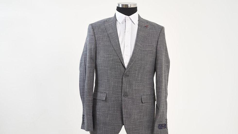 Blazer gris homme 100% laine deux boutons Abidjan chez Maison Korimé