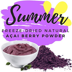 summer acai North Atlantic Food Trading BVBA
