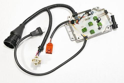 Блок управления 12В (Алюминиевый корпус, индикатор пламени лампочный)