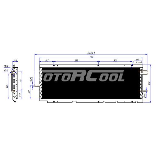 Конденсатор Carrier Maxima (RC-U0248) 08-60025-01