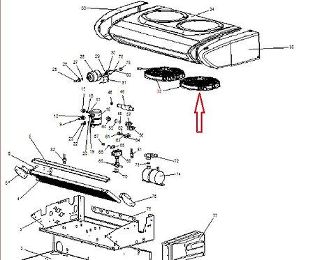 Вентилятор конденсатора Zanotti серии Z 12В (3MTV242) 3MTV192