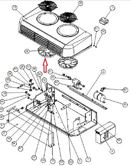 Вентилятор Zanotti 24В SFZ213-229 (3MTV437) 3MTV094