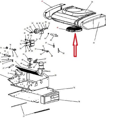 Вентилятор конденсатора Zanotti Zero 20S 12В (3MTV189)