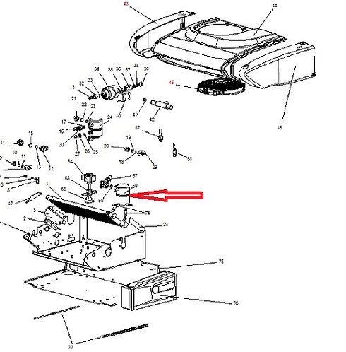 Ресивер Zanotti Z10S/12S/340/440 (3SRP003)