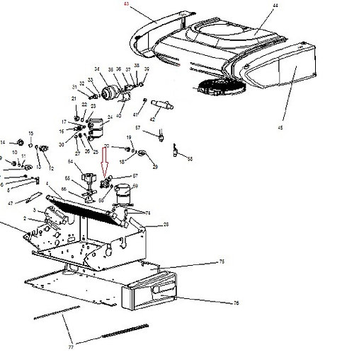 Обратный клапан Zanotti Z 10S/12S/20S/25S/30S/35S/38S (3RBN194)