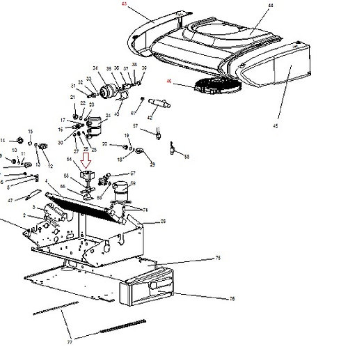 Катушка магнитная соленоида 12В Zanotti Zero 20s/25S/30S/38S  (3CVS017)