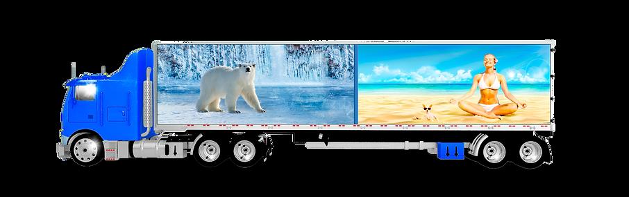 Термоперегородка - простой способ превратить обычный фургон в мультитемпературный.