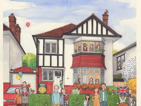 ロンドン郊外の家