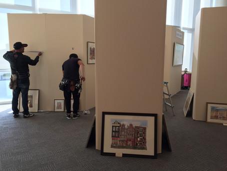 トリスヨシコ原画展 (第121回日本小児科学会学術集会)