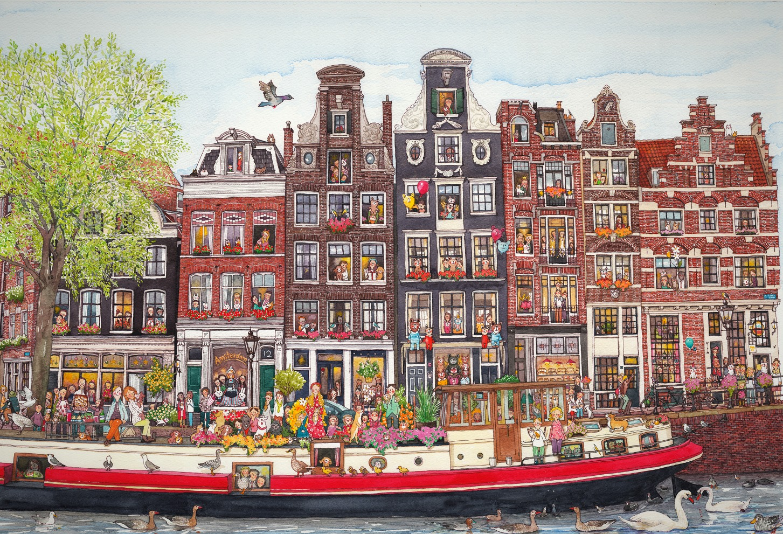 アムステルダムの春