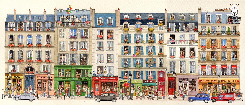 paris(3区)