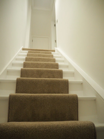 Stairs to Au Pair Flat