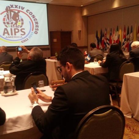 Autoridades mundiales del periodismo deportivo en Colombia