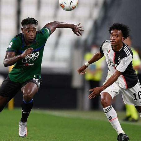 Juventus expone su invicto contra Atalanta en el choque de colombianos de Selección