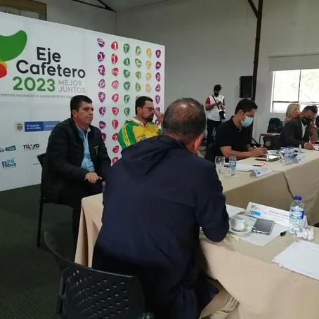 Gobernación de Risaralda y Alcaldía de Pereira lideran Comité Organizador de las Justas Nacionales