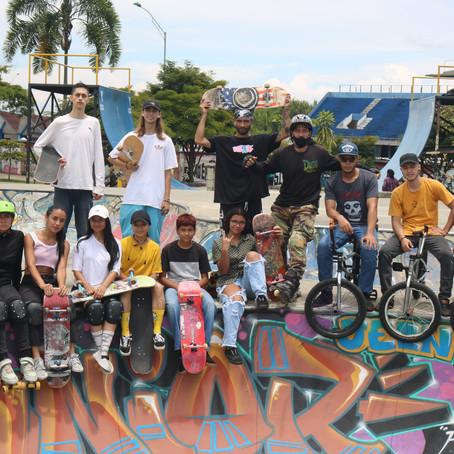 El Skate Park de Pereira, escenario que reúne las nuevas tendencias