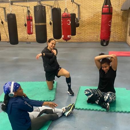 Boxeadora apoyada por la Gobernación de Risaralda, ya se encuentra en Italia