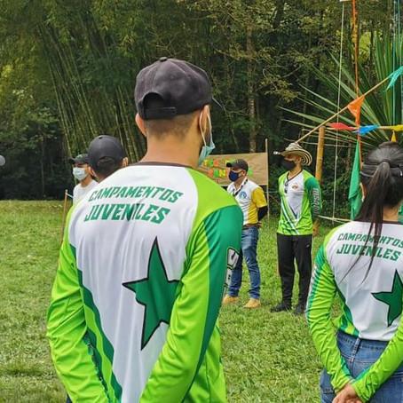 Los Campamentos Juveniles llegaron a Guática y Santuario.