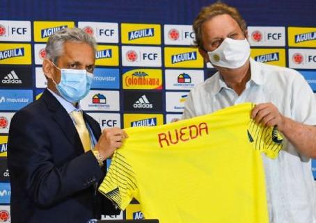 """Rueda fue presentado: """"Colombia será fiel a su expresión futbolística"""""""