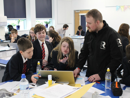 St Benedict's Students Impress Businesses at Special Science Challenge
