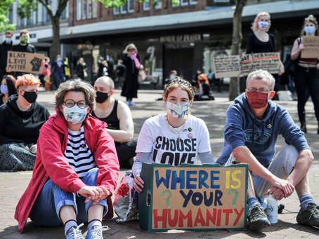 Hundreds gather at Black Lives Matter protest in Carlisle