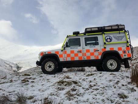 Staggering 70 per cent rise in mountain rescue callouts in December