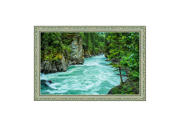 Štampa na Platnu - Zelena Priroda