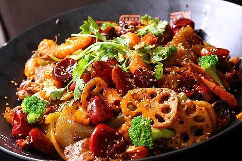 Mala Xiang Guo(Spicy Dry Hot Pot)