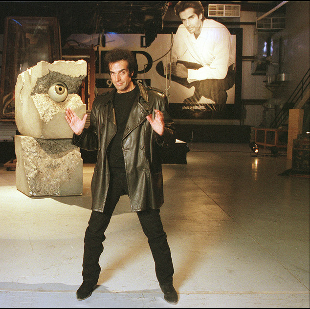 David Copperfield, Las Vegas.