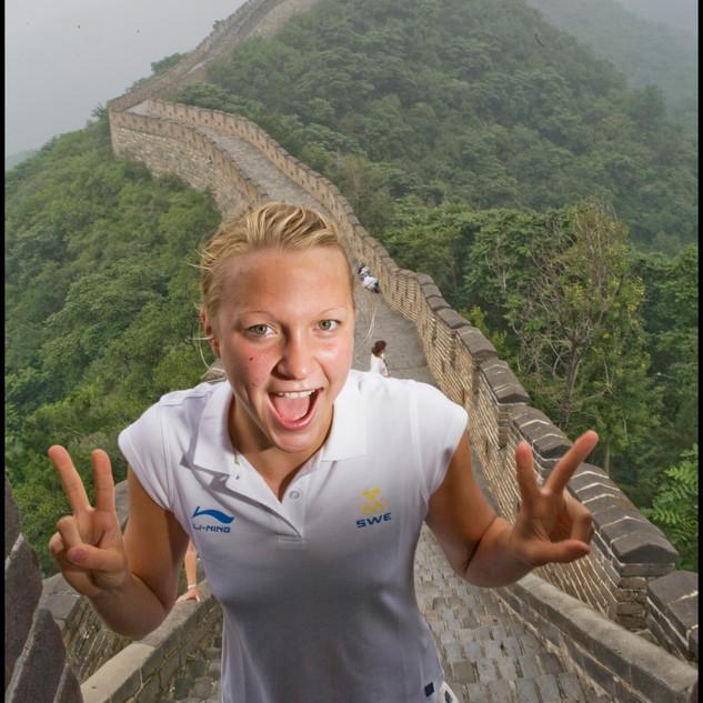 Sarah Sjöstrom - The Great Wall