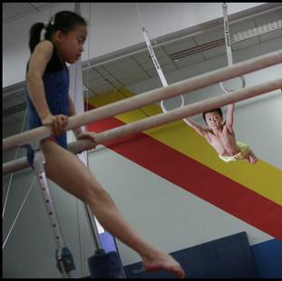 Practice for future Olympics - Beijing.
