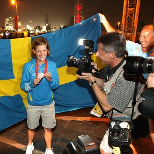 Emma Johansson. Summer Olympics, Beijing